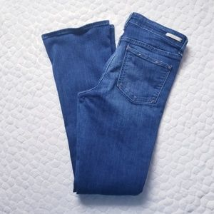 Anthropologie Pilcro Letterpress jeans flare denim